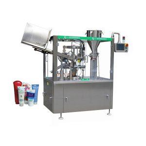 Automaatne pehme nahaga salvi torude täitmise ja sulgemise masin