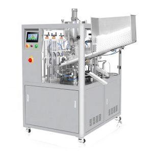 Ultraheli tihendav kosmeetikatorude täitmise masin