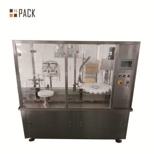 40-1000ml täisautomaatne digitaalne kontroll e vedelike täitmise masin