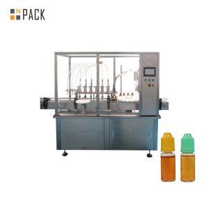 Peristaltilise pumba vedeliku täitmise masin väikese viaali pudeli jaoks