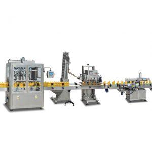 Täisautomaatsed 2 ühes sus304 pudelitäidismasinad oliiviõli valmistamiseks