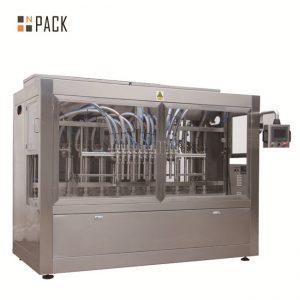 Automaatne 8 täitepihusti vedeliku / pasta / kastme / mee täitmise masin