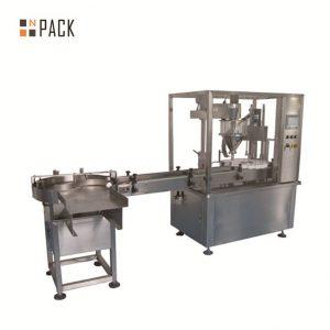 10ml 15ml 30ml pudel silmatilkade täitmise masin / e-vedelike täitmise korkimismasin