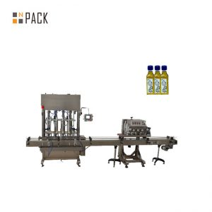 Automaatne 1-5L kolbpudeli purgi lube mootoriõli vedeliku täitmise masin