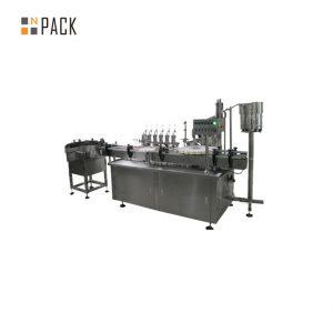 Kohandatud klaasist tilguti e vedeliku täitekorkiga märgistusmasin e-sigareti vedeliku jaoks