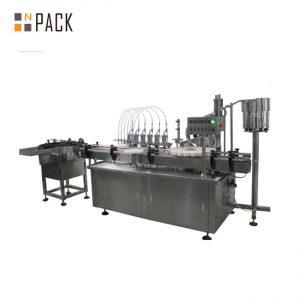10ml ja 60ml tehasehinnaga E vedelpudelite täitmise masinad